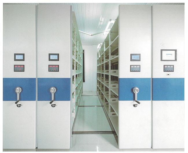 医院用智能电动档案密集柜