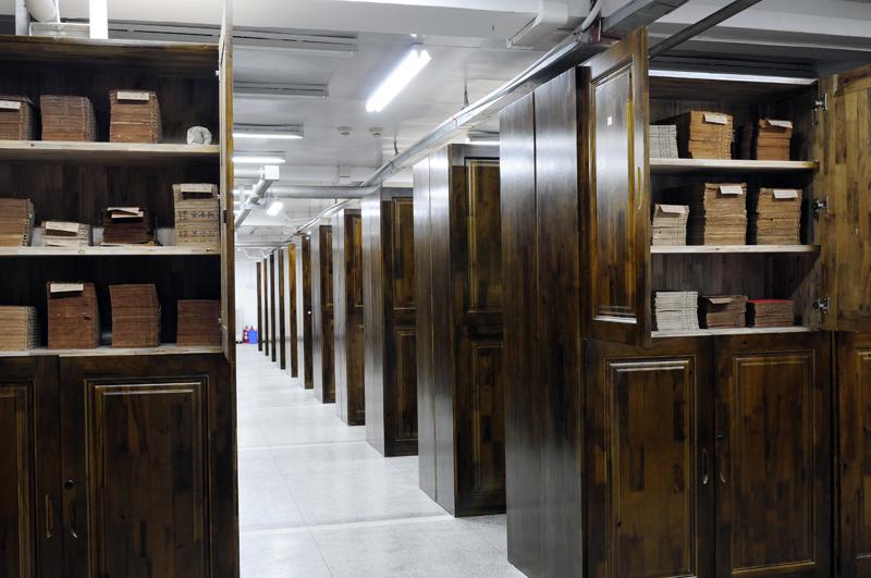 博物馆樟木文物柜古籍柜