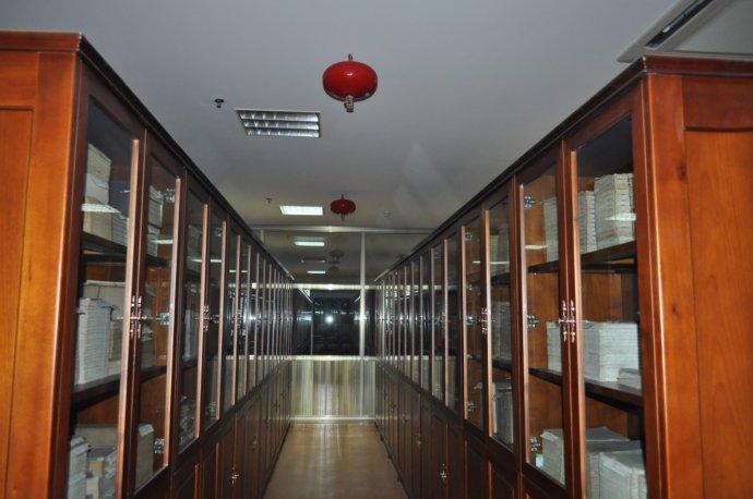 博物馆樟木文物书柜