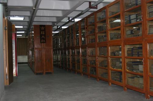 图书馆古籍善本文物柜