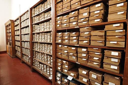 博物馆善本古籍文物书柜